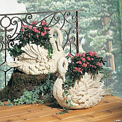 Swan Planter (Facing Right)