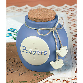 "Daily ""Prayers"" Jug"