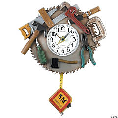 Tool Kit Pendulum Clock