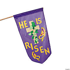 """He Is Risen"" Flag"