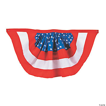 American Woven Bunting - Oriental Trading