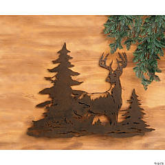 Laser-Cut Deer Wall Hanging