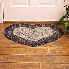 Braided Heart Rug