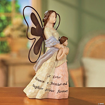 Mother & Daughter Tabletop Angel