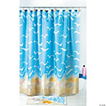 Seashell Shower Curtain or Seashell Curtain Hooks
