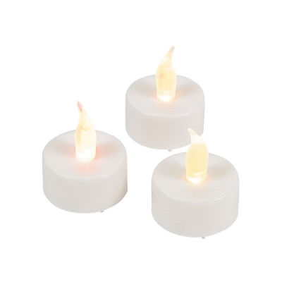 White Battery-Operated Tea Lights