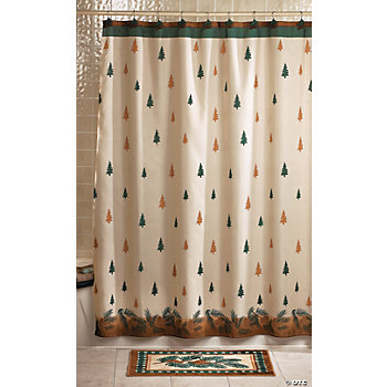 Lodge Shower Curtain