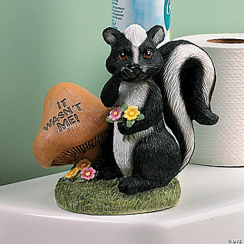 Bathroom Skunk Terry S Village Holiday Decor Discontinued
