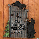 Outhouse Plaque