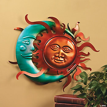 Moon & Sun Wall Décor