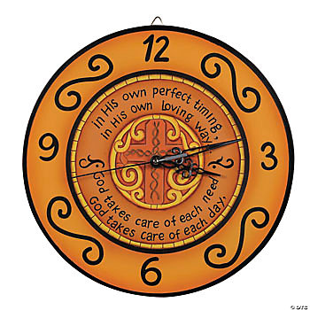 Inspirational Wall Decor on Inspirational Wall Clock   Terry S Village Holiday Decor
