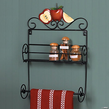 Apple Kitchen Shelf, Wall Art and Decorations, Home Decor ...