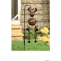 Moose Jingle Bell Yard Stake