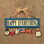 """Happy Everything"" Wall Sign"