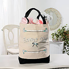 """Flower Girl"" Tote Bag"