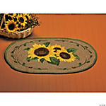 Sunflower Braided Rug