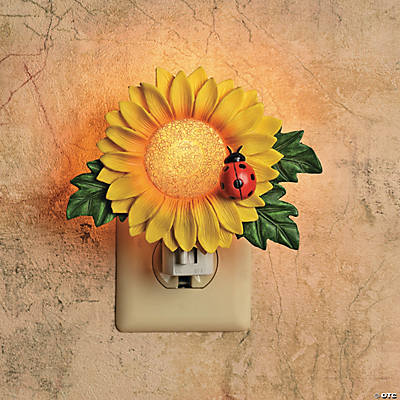 Sunflower Nightlight  Oriental Trading Discontinued