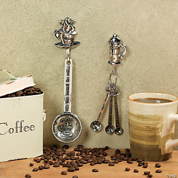 Coffee Measuring Spoons, Housewares, Home Decor - Terry's Village ...