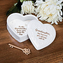 Granddaughter Keepsake Box