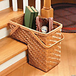 Slanted Stair Basket
