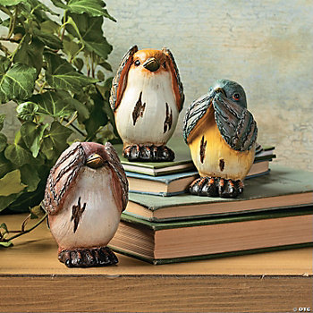 Hear, Speak & See No Evil Birds