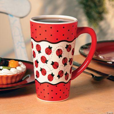 Ladybug Java Mug