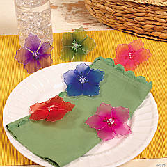 Bright Flower Clips