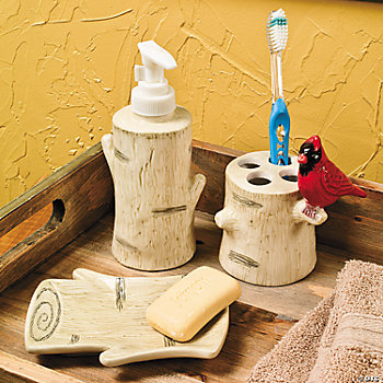 Birch Tree Bathroom Accessories