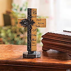 """Be Still and Know That I Am God"" Cross"