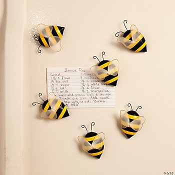 bee magnets supplies kitchen home decor
