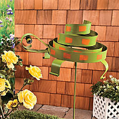 Swirl Turtle Yard Stake