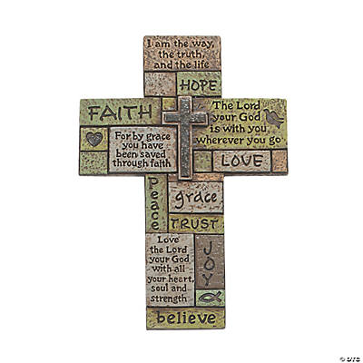 Mosaic Verse Cross