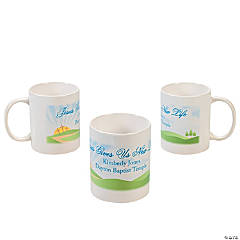 Personalized New Life Through Jesus Coffee Mug