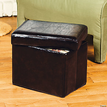 Knockdown Ottoman with Storage