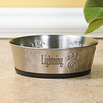 Personalized Small Pet Bowl