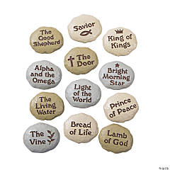 Names Of Jesus Stones