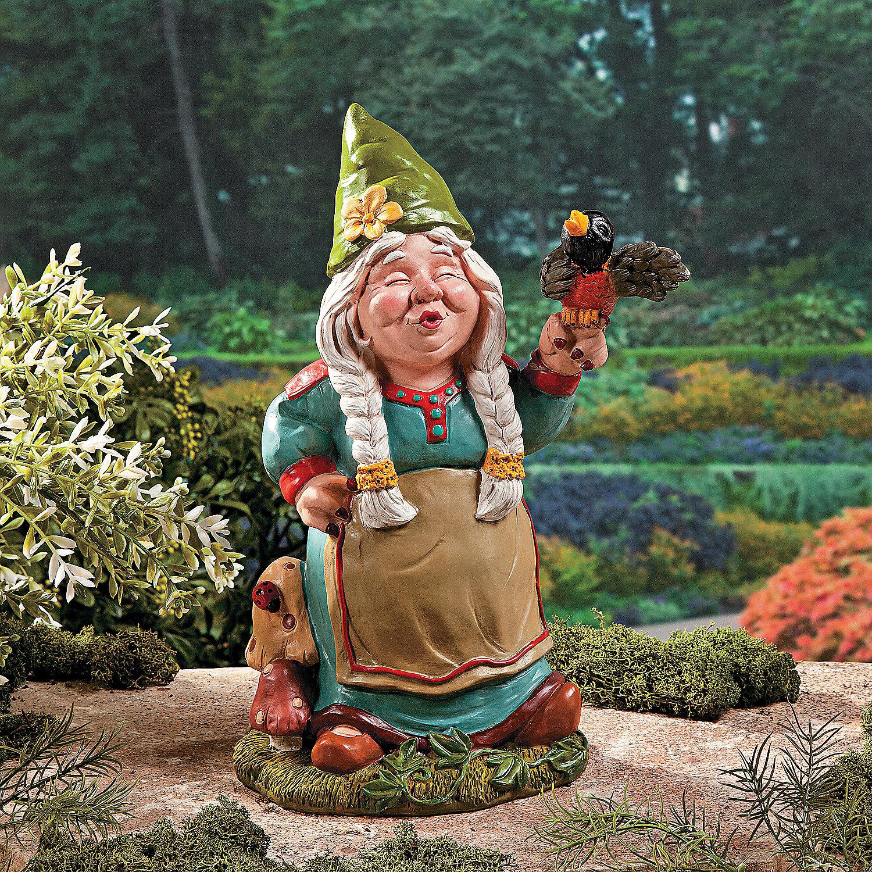 Female Garden Gnomes: Oriental Trading