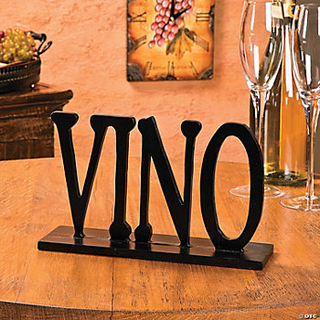 """Vino"" Decoration"