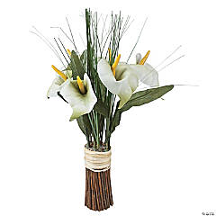 White Calla Lily Standing Bouquet