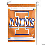 NCAA® Illinois College Football Garden Flag