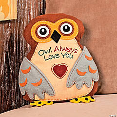 """Owl Always Love You"" Pillow"