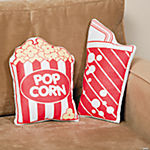 Popcorn & Soda Pillow Set