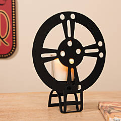 Silhouette Movie Night Candleholders