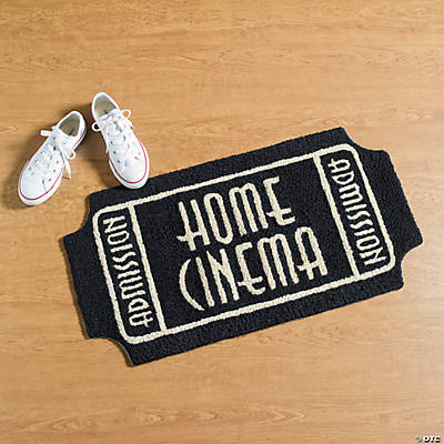 Movie Ticket Rug