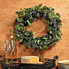 Grape Wreath