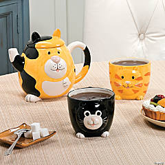 Cat Teapot Set