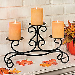 Three Pillar Candleholder