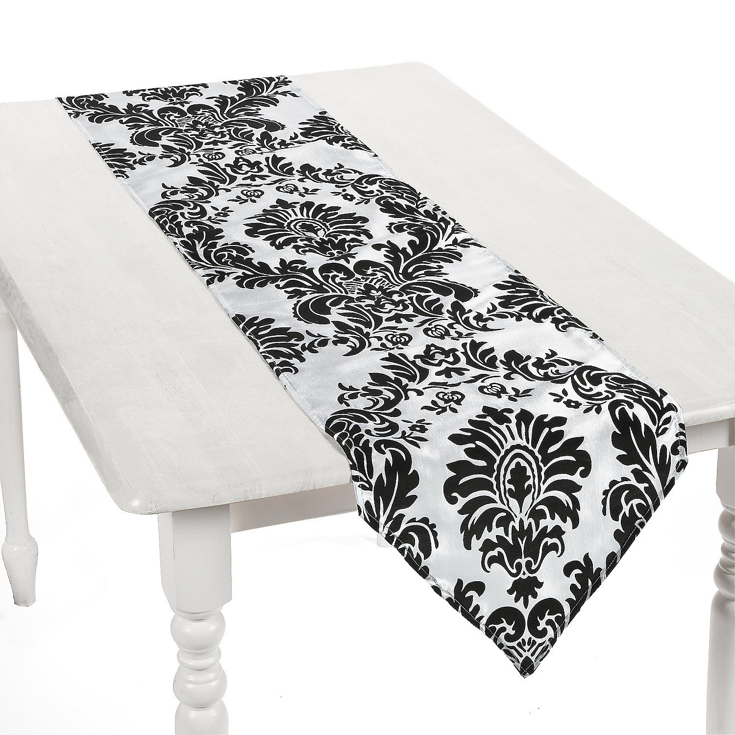 Shop for Table Runners in Table Linens. Buy products such as Sticky Toffee Cotton Woven Table Runner with Fringe, Traditional Diamond, Gray, 14 in x 72 in at Walmart and save.