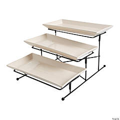 3-Tier Serving Set