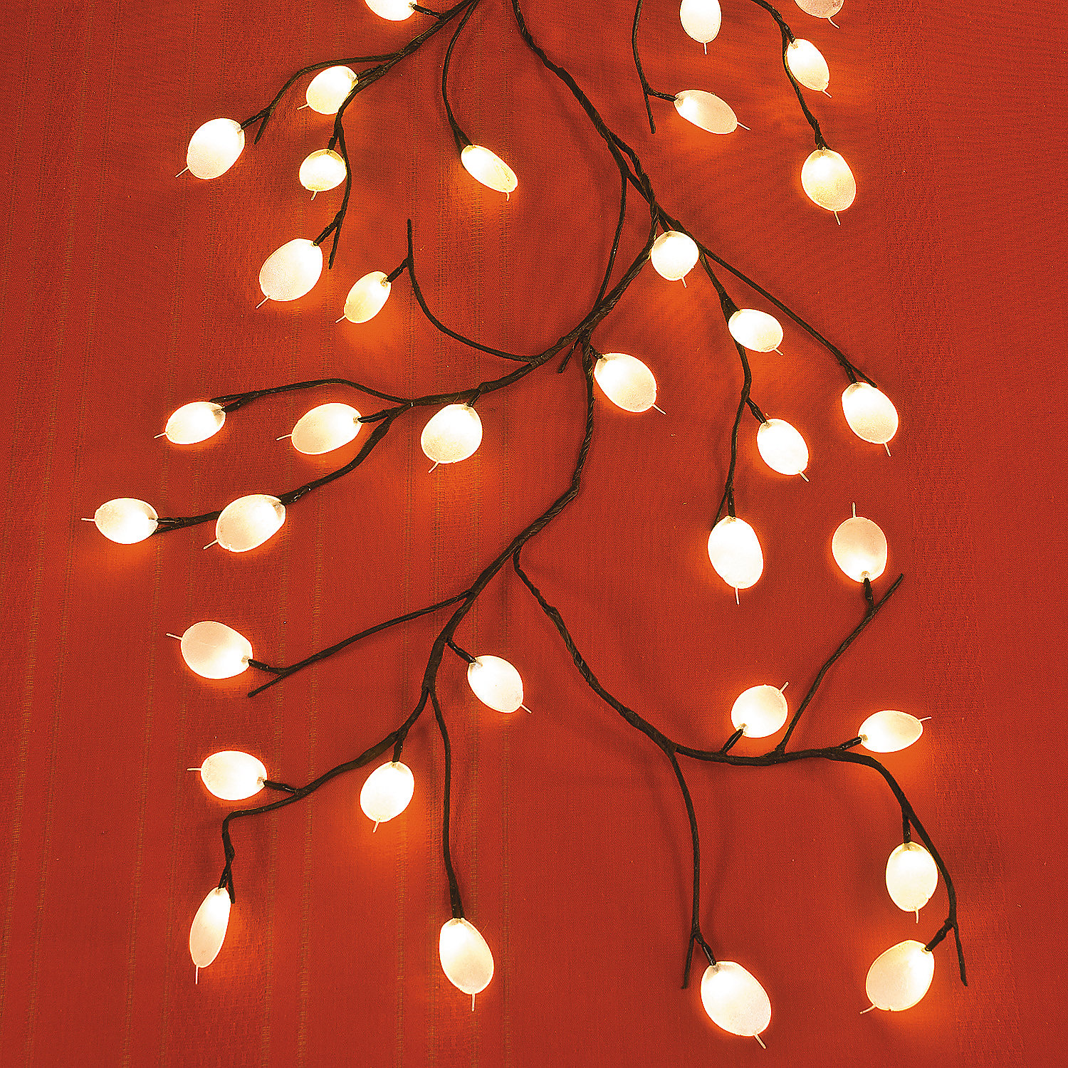 Vine With White Leaf Lights Oriental Trading Discontinued